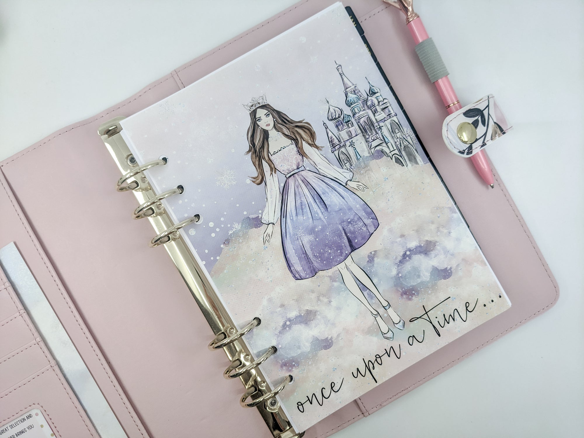 Winter Fairytale Planner Dashboard