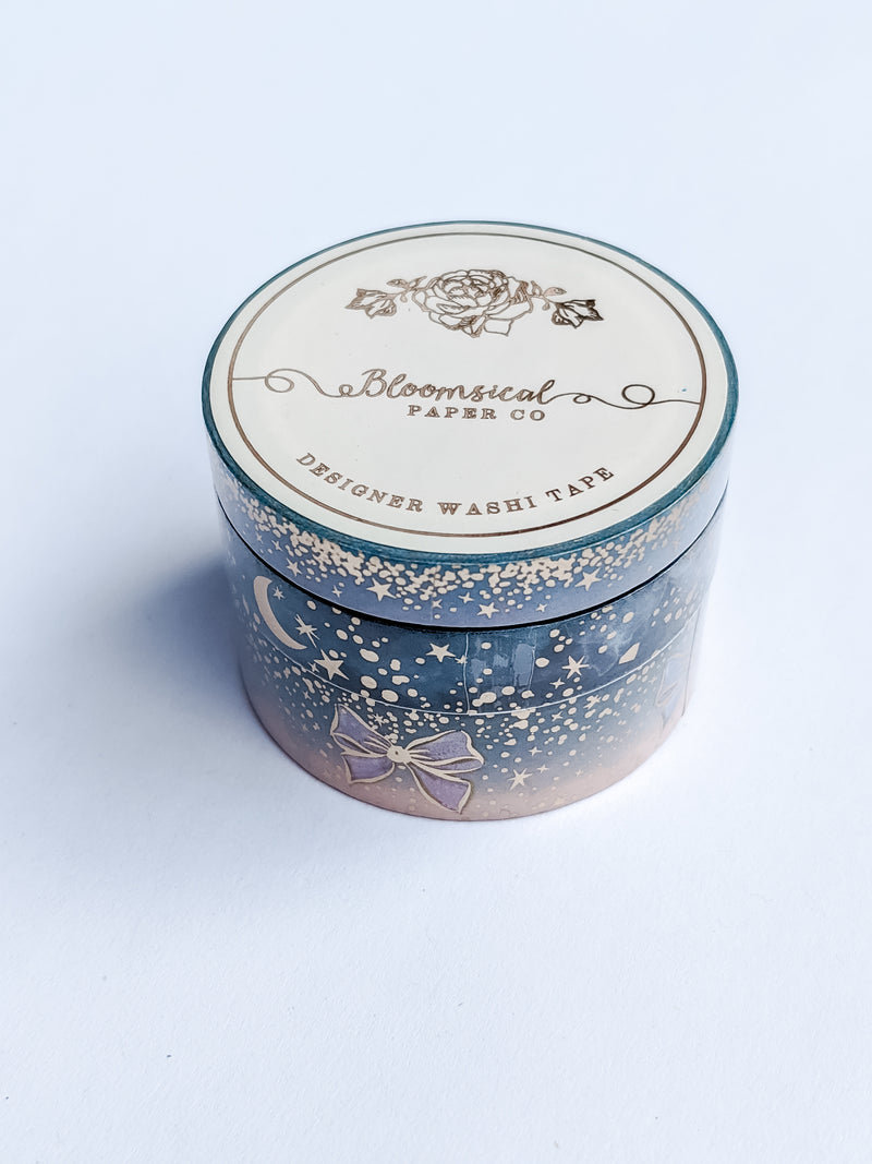 Sparkle Foiled Washi Set (3 tapes) by Bloomsical Paper Co