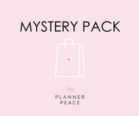 Planner Peace Mystery Pack