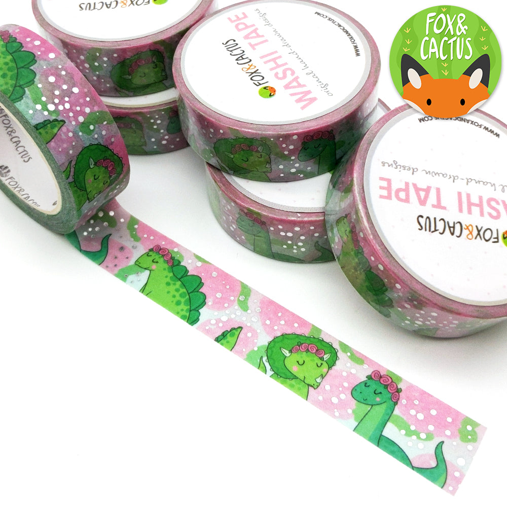 Veggiesaurus Washi (Fox and Cactus)