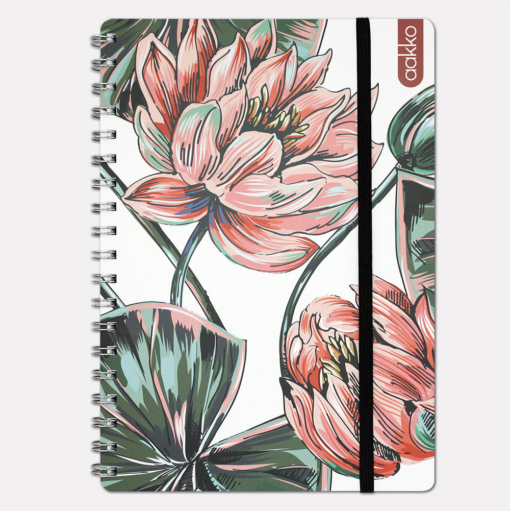"""Waterlilies"" Notebook by AAKKO"