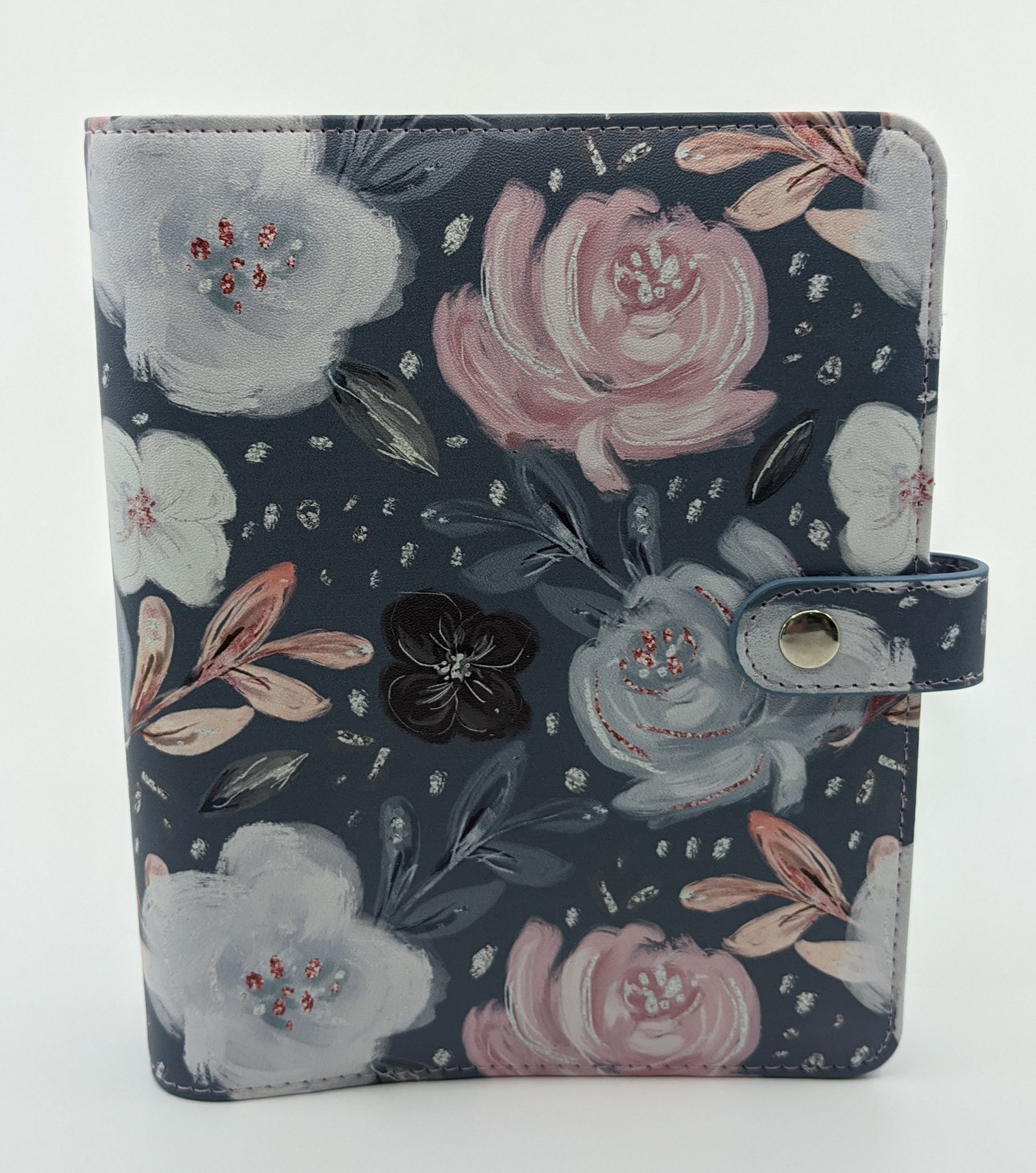 Moonlit Blooms B6 Ring Planner