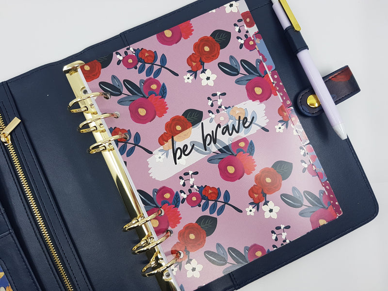 Be Brave Planner Dashboard