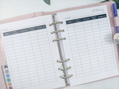 A5 Household Planner Bundle | 40 pages