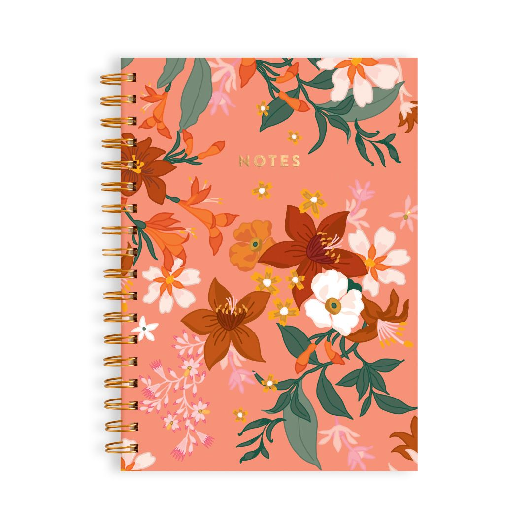 Bohemia Spiral Notebook (Fox and Fallow)