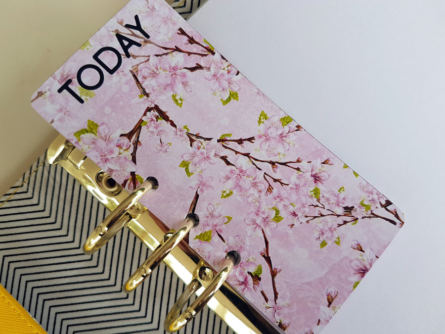 """TODAY"" Page Marker- Cherry Blossom"