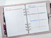 A5 Half-Size Cleaning Checklist Planner Inserts | 20 sheets