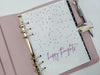 Happy Thoughts Planner Dashboard