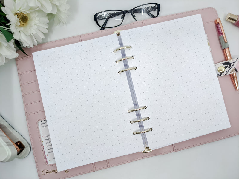 A5 Weekly Planner Inserts with To Do List & Weekends at Bottom