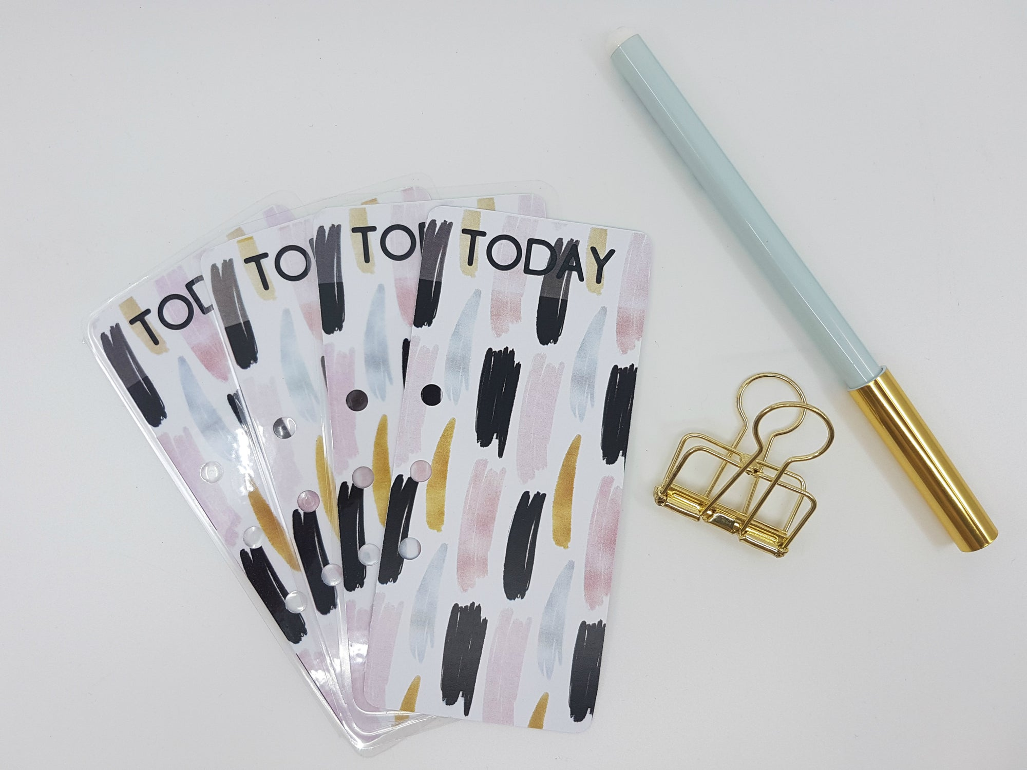 """TODAY"" Page Marker - Gold & Black"