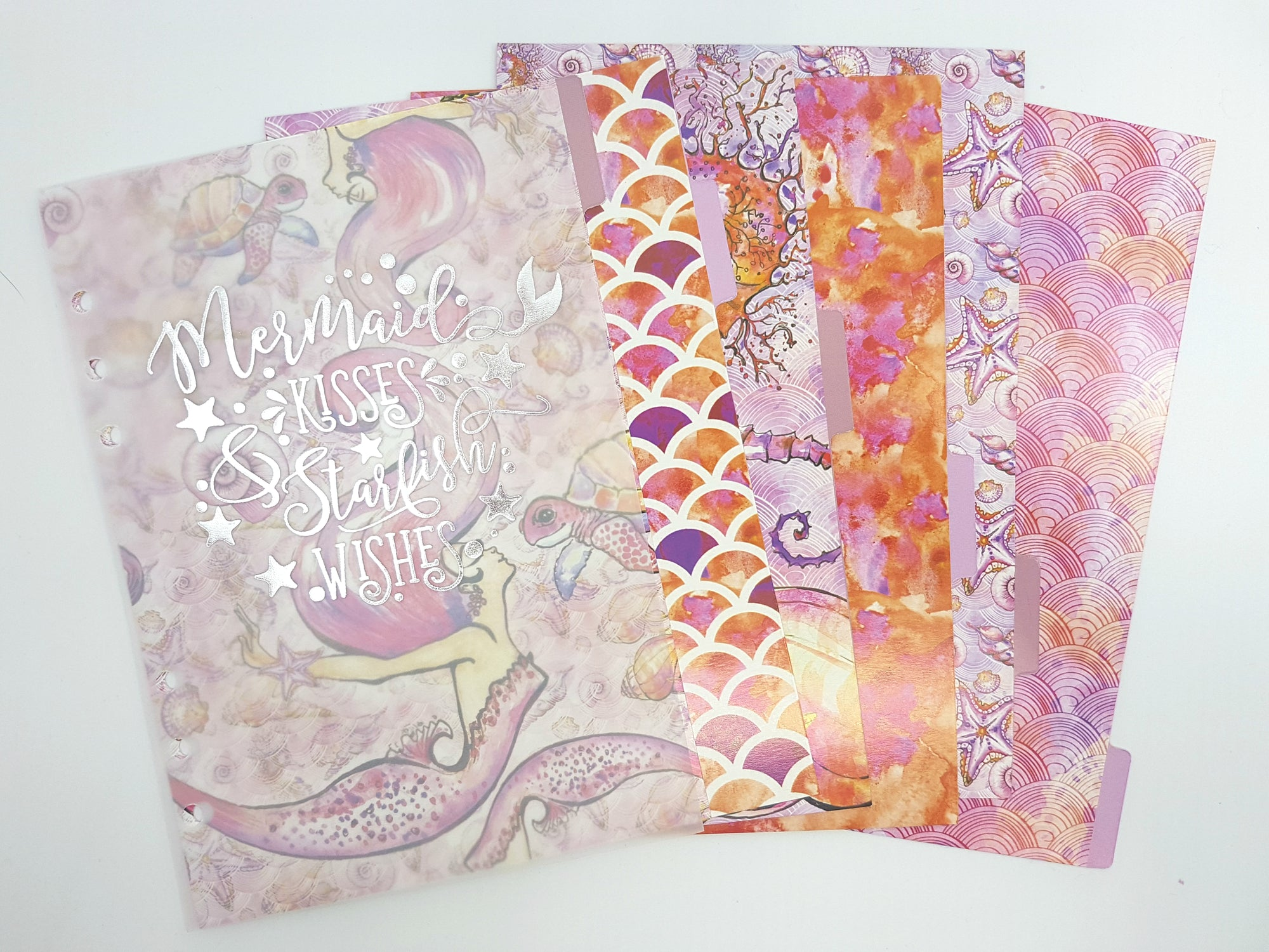 "Dividers & Dashboard Set- ""Mermaids"""