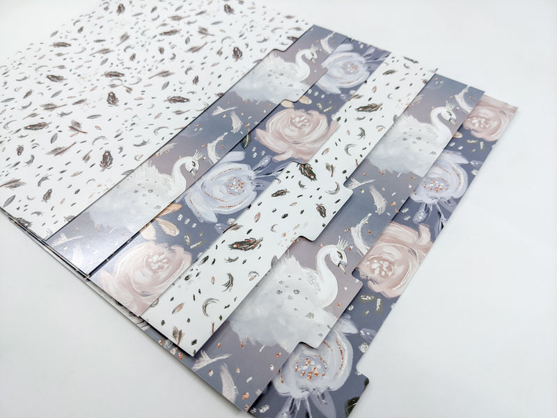 Moonlit Blooms A5 Divider Set