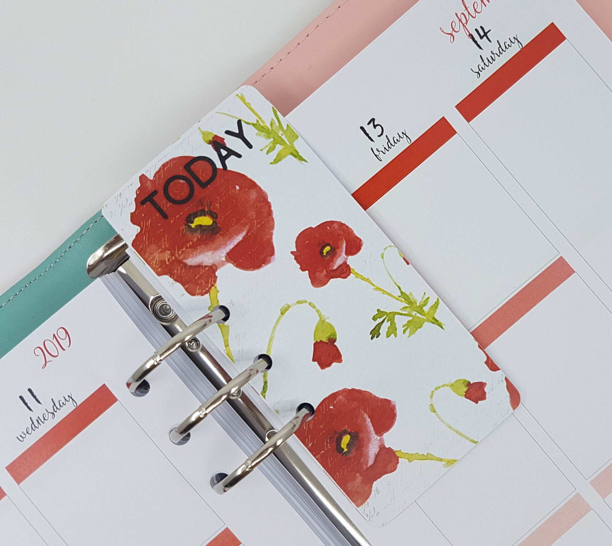 """TODAY"" Page Marker -  Poppy"