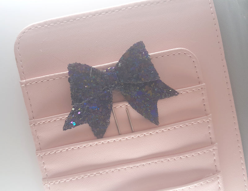 Violet Magic Bow Clip