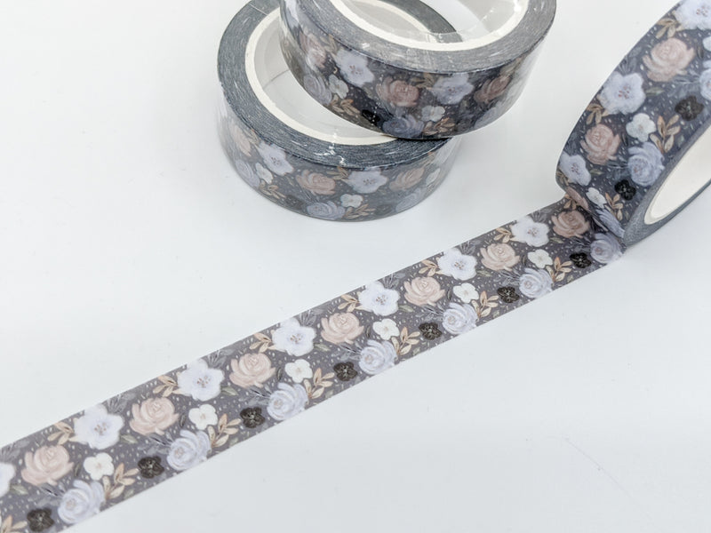 Moonlit Blooms Washi