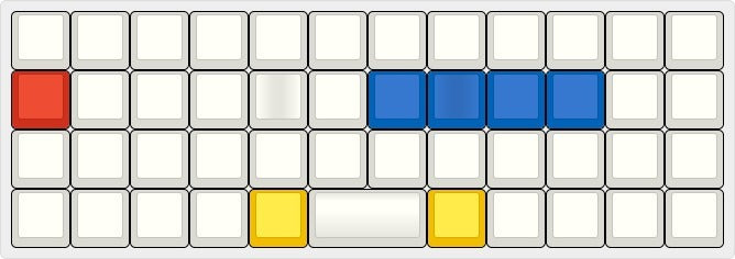 [Group Buy] GMK Mondrian (Ortholinear Blank Keyset)