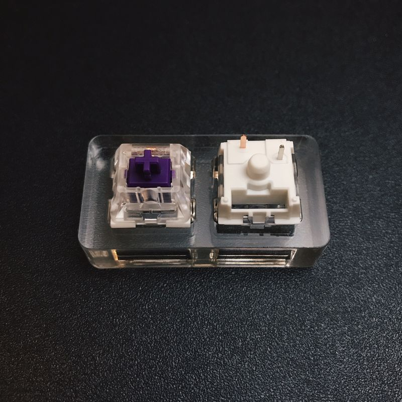 SALE Kailh Pro Switches - Sets of 5 PURPLE Switches
