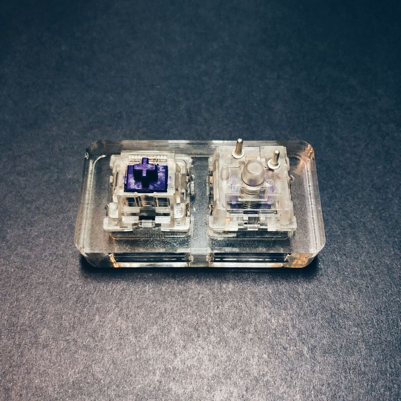 Outemu Switches - Purple & Teal (and ICE)