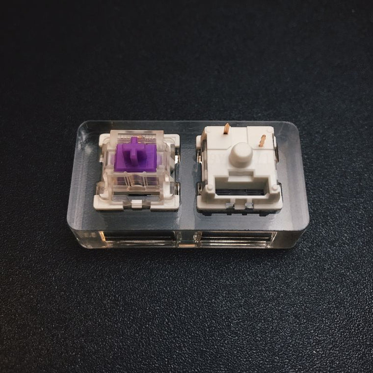 Outemu Switches - Purple & Teal