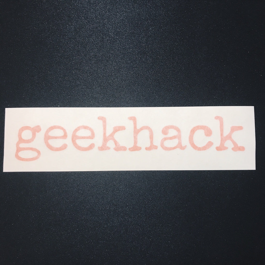 Stickers - geekhack Logo