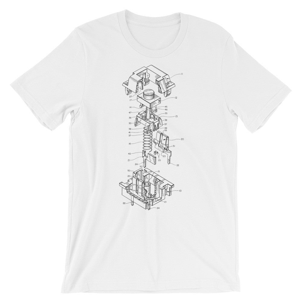 Cherry MX Switch Patent T-Shirt