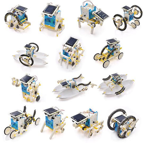 14-in-1 DIY Solar Robot Kit