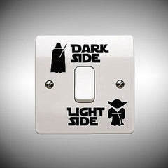 Dark Side / Light Side - Light Switch Decals