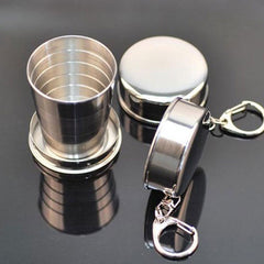 Collapsible Telescopic Travel Cup