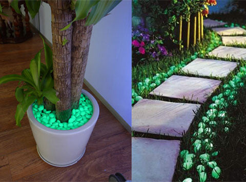 Glow In The Dark Pebble Stones