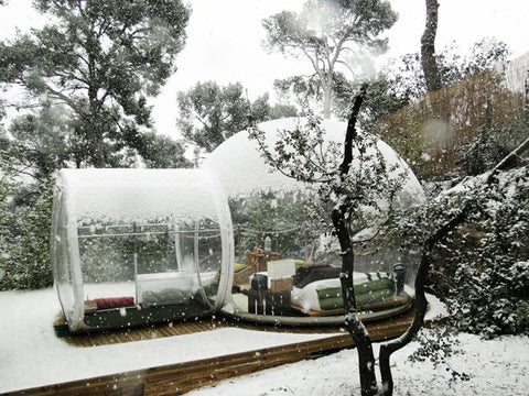 The Igloo Bubble Tent