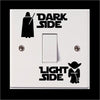 Image of Dark Side / Light Side - Light Switch Decals
