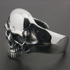 Image of Heavy Skull Mens Bracelet Cuff