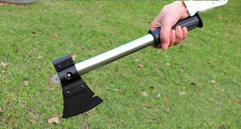 9-In-1 Camping Shovel Multi-Tool
