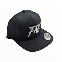 FNC Black Snapback - Original Garage Moto