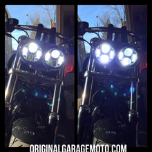 Harley-Davidson Fat Bob FXDF OG LED Headlights - Original Garage Moto