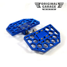 OG HoneyComp Mini Floorboards for Harley-Davidson - Blue - Original Garage Moto