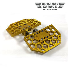 OG HoneyComp Mini Floorboards for Harley-Davidson - Gold - Original Garage Moto