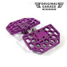 OG HoneyComp Mini Floorboards for Harley-Davidson - Purple - Original Garage Moto