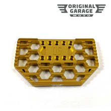 OG HoneyComp Mini Floorboards Replacement Gripper - Gold - Original Garage Moto