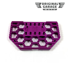 OG HoneyComp Mini Floorboards Replacement Gripper - Purple - Original Garage Moto