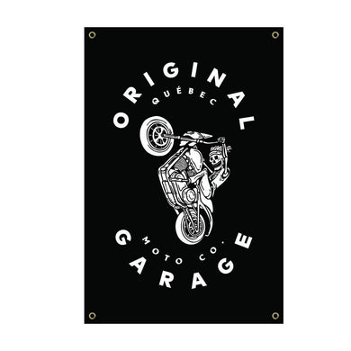 OG Wheelie Banner - Original Garage Moto