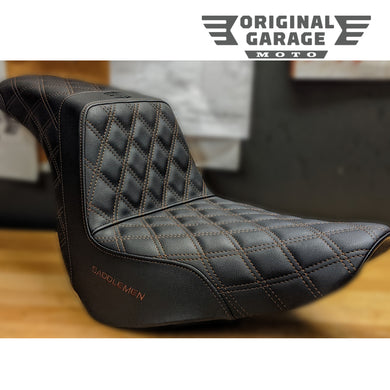 Saddlemen Custom Step Up Seat - Original Garage Moto