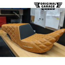 OG X Saddlemen Custom Step Up Seat for HDs Touring models - Original Garage Moto