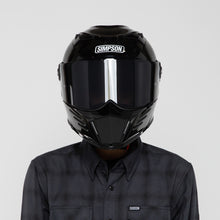 Simpson Mod Bandit Helmet - Gloss Black - Original Garage Moto