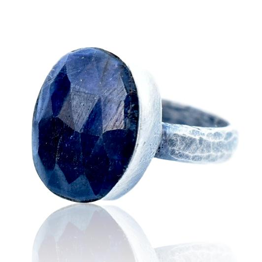 Stormy Sapphire Ring