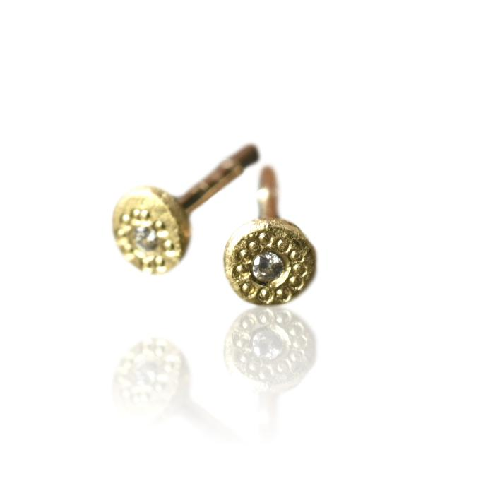 Diamond Studs / Gold