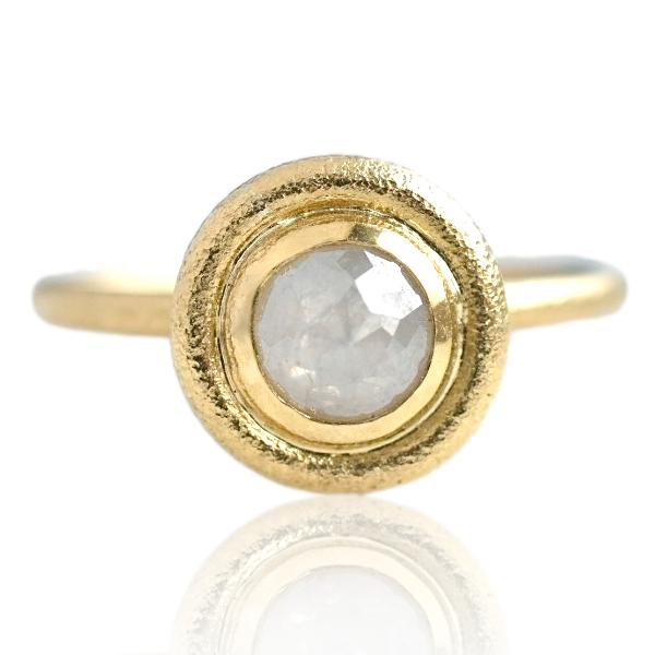 Hali Engagement Ring / 18k Gold