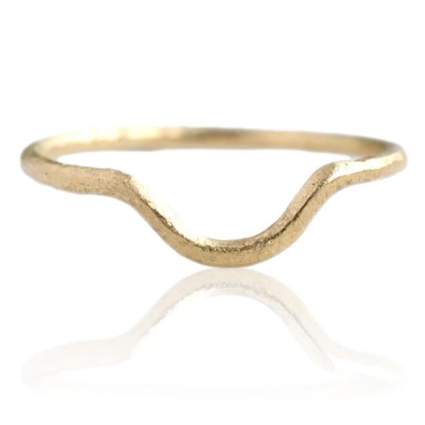 Curved Band / Gold