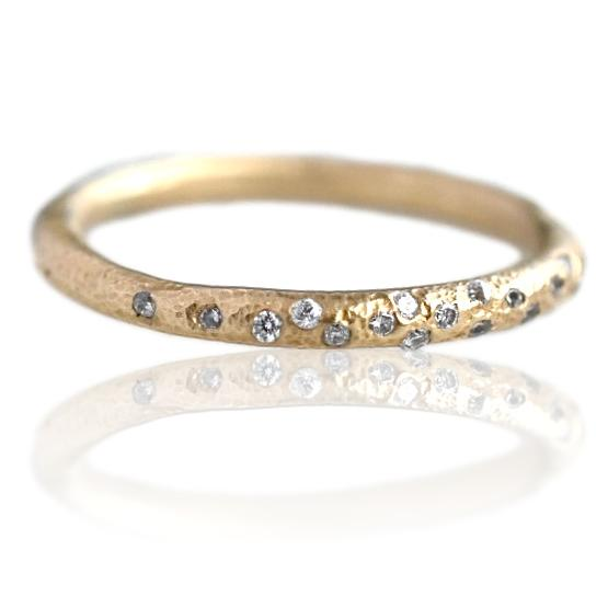 Sparkle Band / Yellow Gold
