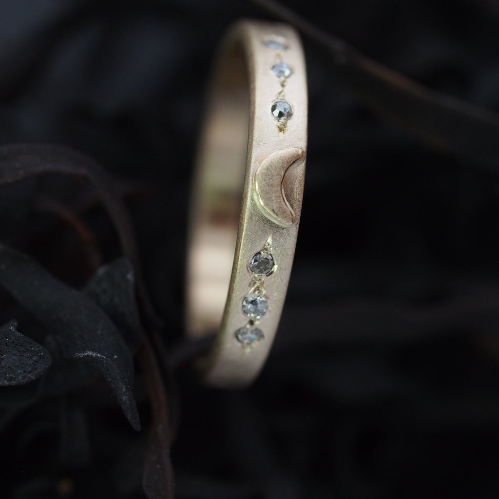 Luna Band / 14k gold